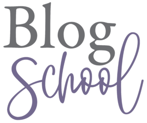 Blog School Logo